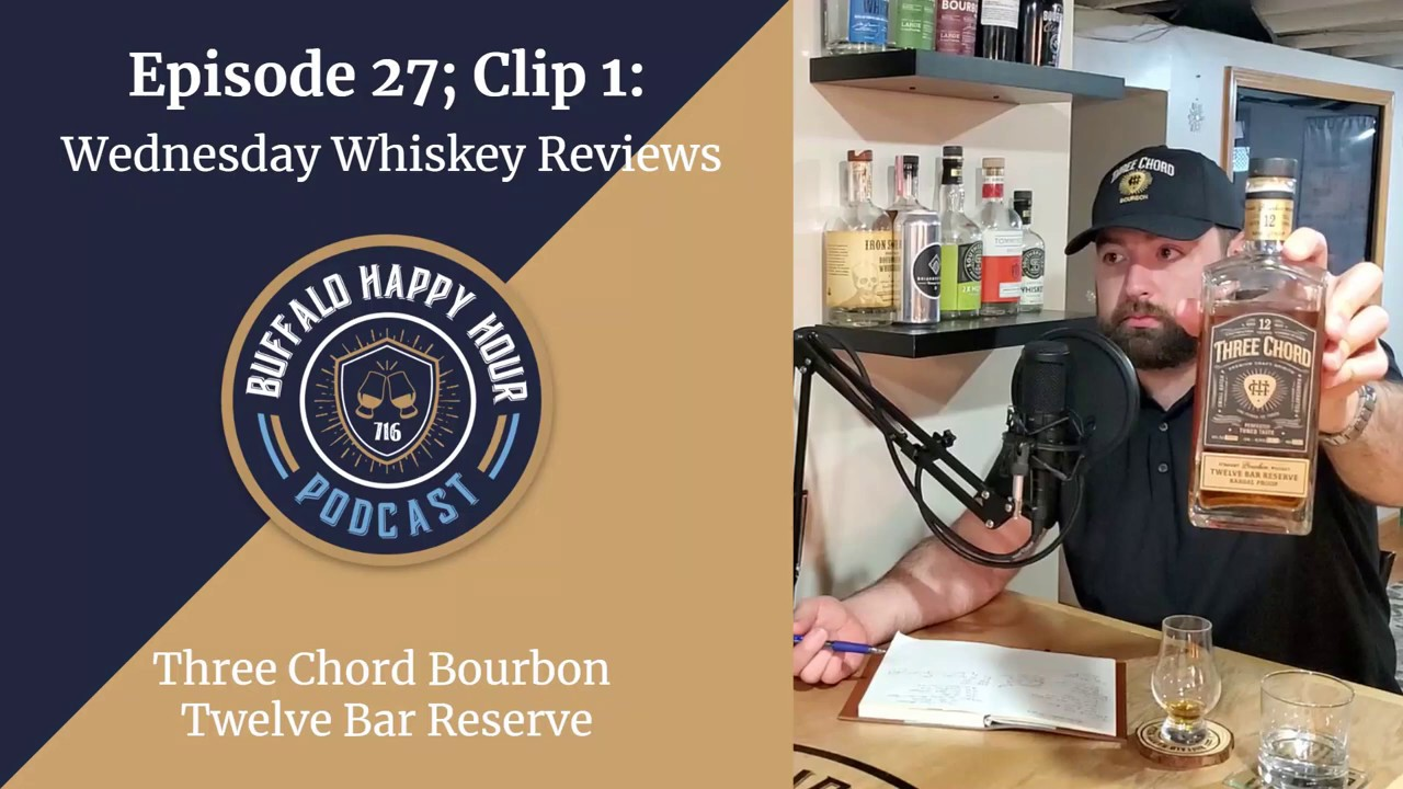 Wednesday-Whiskey-Review-Three-Chord-Bourbon-Twelve-Bar-Reserve-Buffalo-Happy-Hour